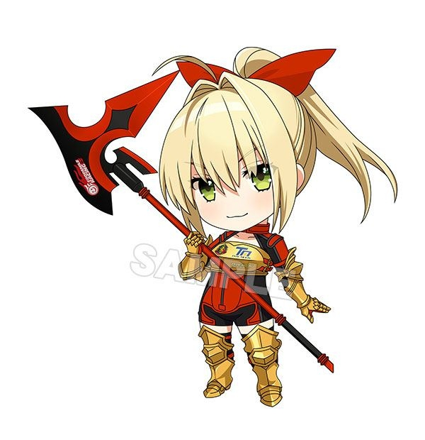 Good Smile Racing & Type-Moon Racing Nendoroid Nero Claudius: Racing Ver.-0