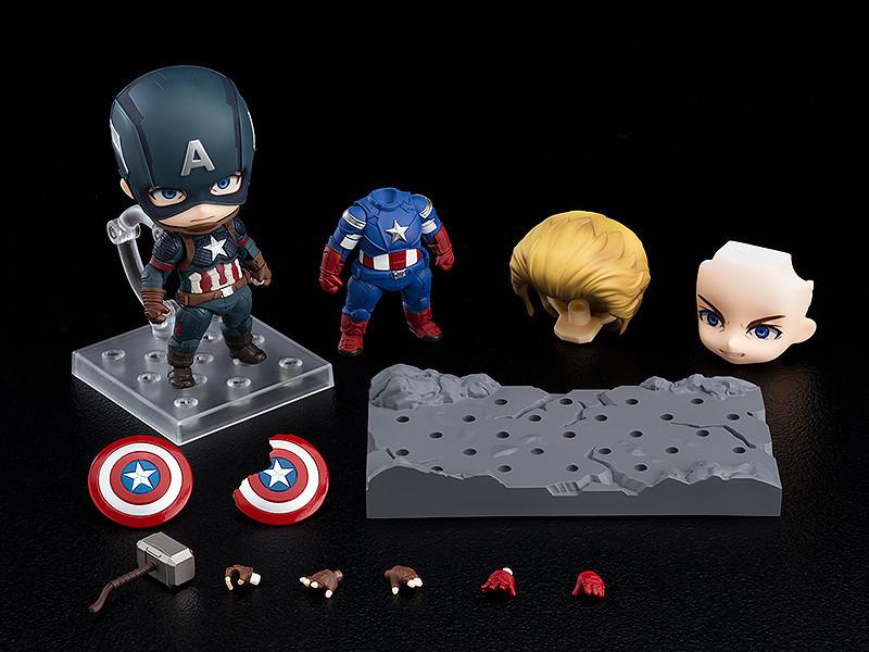 Avengers Endgame Nendoroid Captain America Deluxe