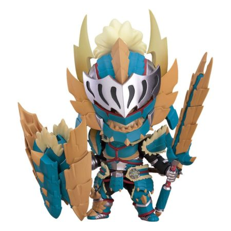 Monster Hunter World Iceborne Nendoroid Hunter Male Zinogre Alpha Armor
