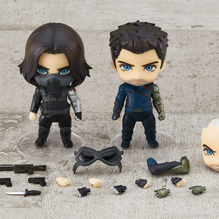 The Falcon and the Winter Soldier Nendoroid Winter Soldier DX