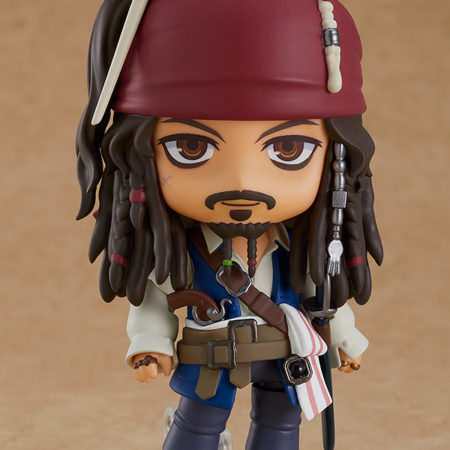 Pirates of the Caribbean Nendoroid Jack Sparrow