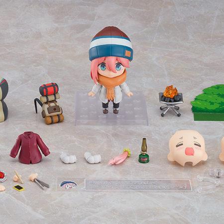 Nendoroid Nadeshiko Kagamihara: Solo Camp Ver. DX Edition