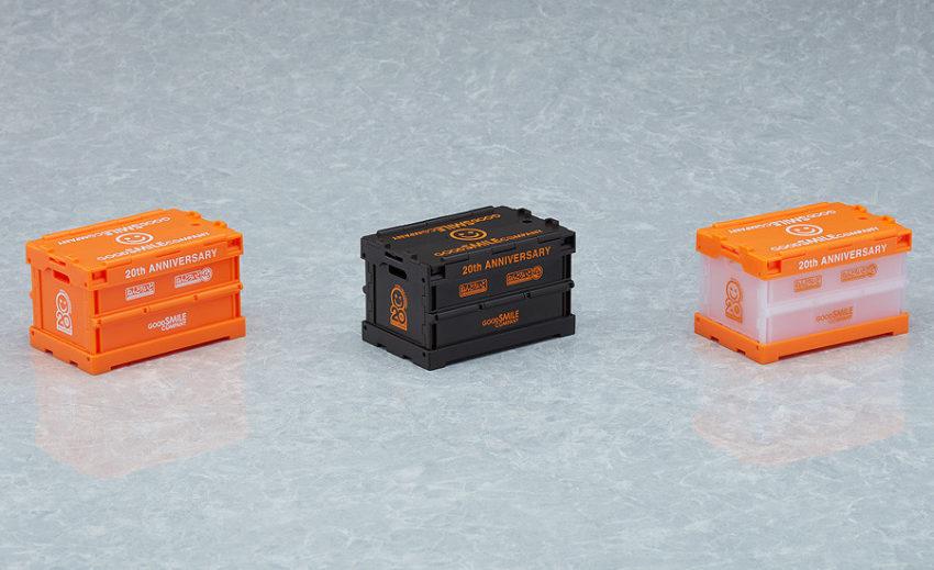 Nendoroid More Anniversary Container (Orange/Black/Clear)
